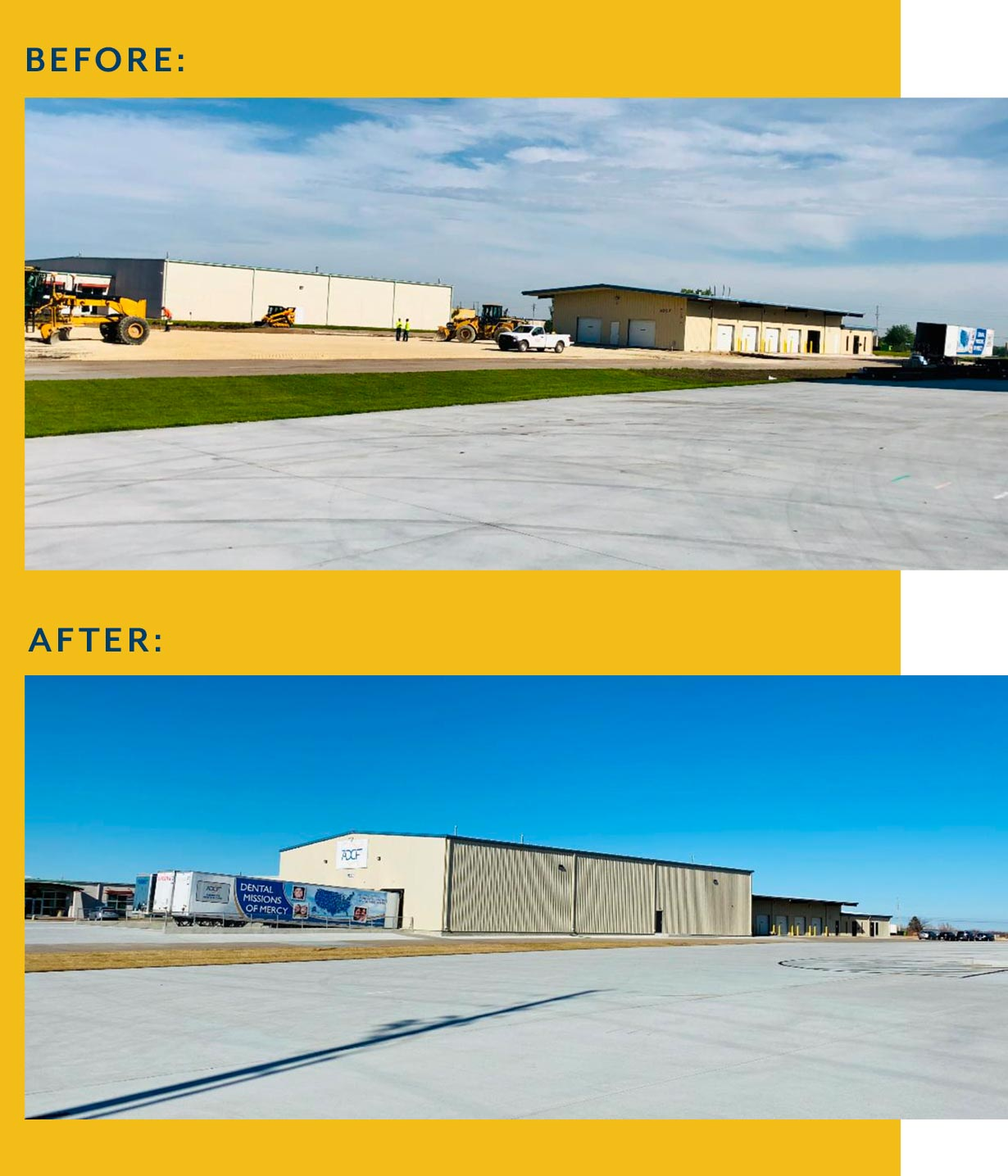 ADCF Before and After Building Image
